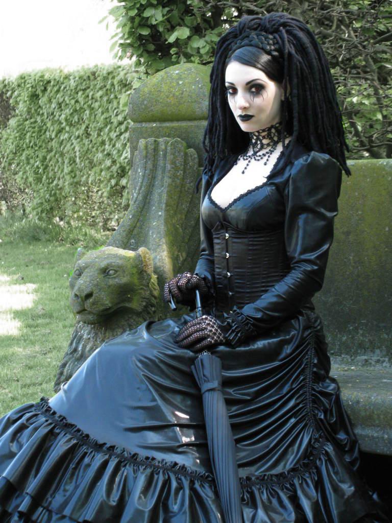 Goth chick photo 40